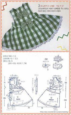 Girls dresses pattern making Frock Patterns, Baby Dress Patterns, Baby Clothes Patterns, Kids Patterns, Clothing Patterns, Sewing For Kids, Baby Sewing, Little Girl Dresses, Girls Dresses