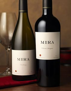 Mira Winery | Wine Label & Package Design by CF Napa Brand Design