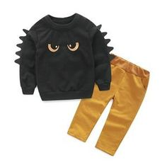 Cheap boys outfit, Buy Quality toddler boy outfits directly from China toddler boy Suppliers: Autumn Winter Baby Boy Cute Clothing Pullover Sweatshirt Top + Pant Clothes Set Baby Toddler Boy Outfit Suit Toddler Boy Outfits, Baby Outfits Newborn, Toddler Boys, Kids Outfits, Baby Boys, Kids Boys, Mom Baby, Baby Set, Infant Toddler