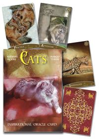 The #Cats Inspirational Oracle Cards, by Lo Scarabeo