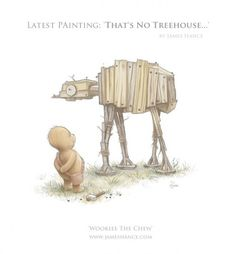 Star Wars/Winnie the Pooh Mash-up: Wookie the Chew
