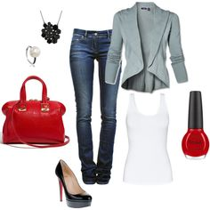 Cute, love blazers :)