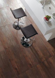WalkOn Tile Corten Porcelain Floor.