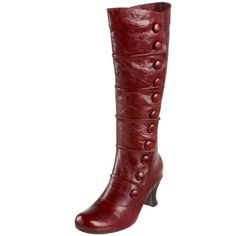 More boots with buttons.  Love!