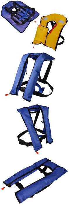 Life Jackets and Preservers 15262: Automatic/Manuel Auto Inflatable Life Jacket Vest Lifevest Pfd Water Survival BUY IT NOW ONLY: $45.95