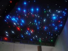 Contemporary Ceiling Designs with LED lights for Romantic Modern Kids Room Decorating