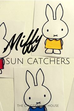 Miffy sun catchers -