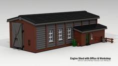 Engine Shed with Office and Workshop | Flickr - Photo Sharing!