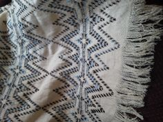 Todd and Kim's Afghan up close