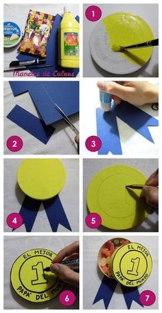 Diy Father's Day Crafts, Craft Day, Father's Day Diy, Fathers Day Crafts, Happy Fathers Day, Diy Crafts To Sell, Paper Crafts, Diy For Kids, Crafts For Kids