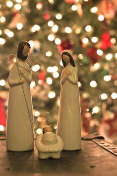 Jose e Maria com o Menino Jesus