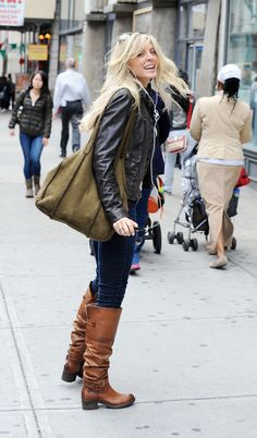 Marla Maples Runs Errands in NYC... love her casual style... Met her one, she is a lovely lady!