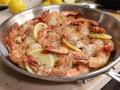 """Garlic & Herb Roasted Shrimp (Cook Like a Pro: Weeknight Dinners) - Ina Garten, """"Barefoot Contessa"""" on the Food Network."""