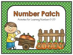 These four activities will give your students practice with:   writing numerals 0-20  number sequence 0-20  numbers after  numbers before  numbers after and before  representing numbers in various ways (tally marks, ten frames, number words, numbers sets)  number lines 0-20