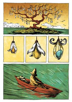 Silent Comics by Ileana Surducan, via Behance