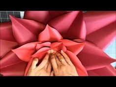 Paper flower tutorial by Candy Tree Baltimore - YouTube