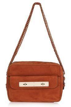 Mulberry Carter Suede Shoulder Bag