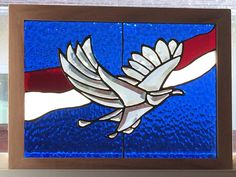 God Bless America stained glass beveled eagle Chalk Paint Projects, Animal 2, Glass Animals, Artist Gallery, God Bless America, Beveled Glass, My Portfolio, Stained Glass, Mosaic