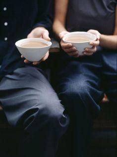 仲良くコーヒータイム|おじゃまな『カフェ フォト集』