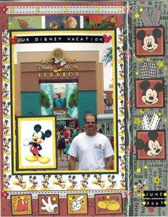 Our Disney Vacation - Scrapjazz.com
