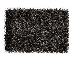 Alfombra shaggy de algodón y fibra sintética Sofía - 200x140 cm