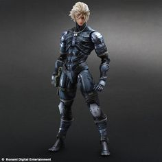 Raiden, the unlikely protagonist of the stealth action game Metal Gear Solid 2: Sons of Liberty, comes to the Play Arts Kai lineup! Wearing the Skull Suit he wore when infiltrating the Big Shell, this figure of Raiden has been meticulously crafted to not only capture every detail of the suit, but also the contours of his muscles. Highly poseable, this figure comes with his sword, SOCOM handgun, an...