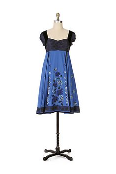 cb461700e720c Silent Solstice Dress by Lithe Blue Velvet Dress, John Fluevog Shoes, Formal  Dresses,