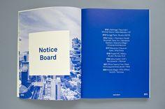 Marielle van Genderen - Mark Magazine redesign with Akkurat font.