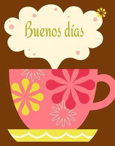 Cheery Good Morning Coffee Art Print by pictorialboom Good Morning Coffee, Good Morning Sunshine, Good Morning Good Night, Good Morning Quotes, Coffee Talk, I Love Coffee, My Coffee, Coffee Cups, Coffee Break