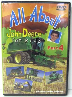All About John Deere For Kids Part 4 DVD