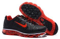 Nike Air Max 2011 Shoes Black Red