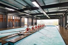 Radley Rowing Centre by Mulroy Architects