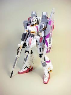 MSZ-006 Zeta Gundam Papercraft Ver.3 by Nausica774 - http://www.papercraftsquare.com/msz-006-zeta-gundam-papercraft-ver-3-by-nausica774.html#Gundam, #MobileSuitZetaGundam, #MSZ006, #MSZ006ZetaGundam, #ZetaGundam, #ΖGundam