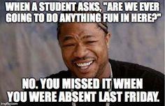 I hear you like paperwork Work job humor memes lol funny photo Teacher Humour, Teaching Humor, Teaching Quotes, Art Teacher Meme, English Teacher Humor, Teacher Sayings, Teaching Music, Math Teacher, Teaching Ideas