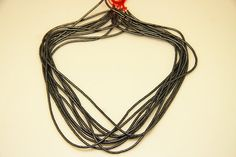 1strand  natural hematite plain rondel 2mm by 3yes on Etsy