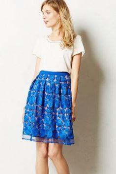 Albastru Skirt