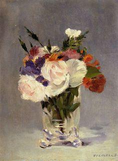 Pintura a óleo sobre tela de Eduard Manet