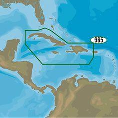 C-MAP 4D NA-D965 - Cuba, Dominican Republic, Caymans & Jamaica