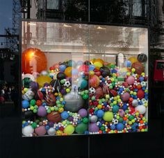 Stella McCartney for Adidas store window display - visual merchandising