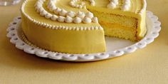 The buttermilk in this luscious lemon cake produces a moist yet fluffy crumb.