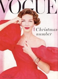 Vogue UK-December 1956 by Fashion Covers Magazines