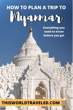 Everything you need to know before planning your trip to Myanmar. Including how to get there, how to get around, data & wifi, currency & ATM's and more! Myanmar Travel, Africa Travel, Travel Guides, Travel Tips, Travel Destinations, Adventure Travel, Adventure Awaits, Summer Travel, Plan Your Trip