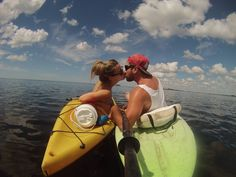 Kayak love! Photo by Joel Armstrong.