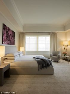 The Mark Hotel's cavernous penthouse has five bedrooms...