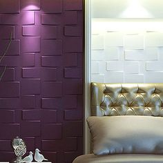 Is Paneling Walls good for Home Improvement? Pvc Panels, 3d Wall Panels, Loft Design, Wall Design, Interior Exterior, Room Interior, Drywall, Interior Decorating, Interior Design