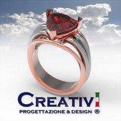 Creativi Design | Ring 3D Jewel Model Rhinoceros