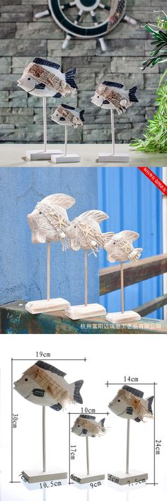 Free Shipping New Home Furnishing Series Of Antique ZAKKA Home Decoration Fish Ornaments $32.9