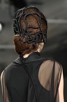 Something similar can be constructed in our October workshop with Laura Whitlock. https://www.judithm.com/products/versatile-wire-frames-stiffened-lace-chapeaux #millinery #judithm #hats
