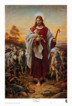 "I Am The Good Shepherd. BIBLE SCRIPTURE: John 10:11, ""I am the good shepherd: the good shepherd giveth his life for the sheep."""