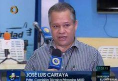 Quién es José Luis Cartaya el nuevo jefe de la MUD  http://www.facebook.com/pages/p/584631925064466